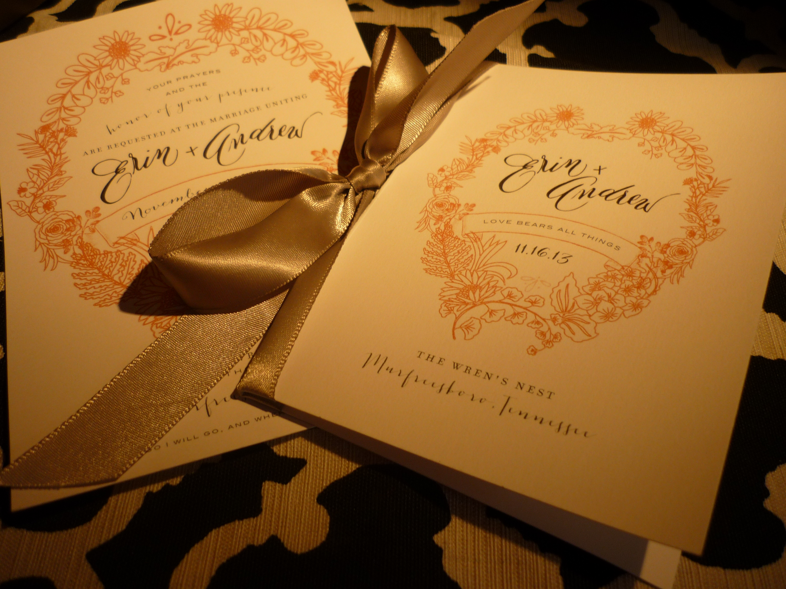 Invitation with Southern Stationery